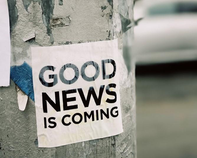 Estrategias basadas en buenas noticias. El caso Some Good News